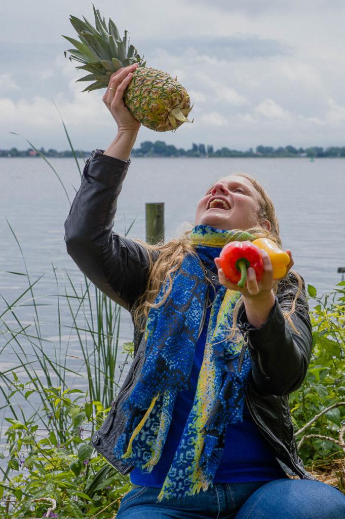 Leonie Goezinnen, diëtist. Foto gemaakt door Gaston Lamaitre.