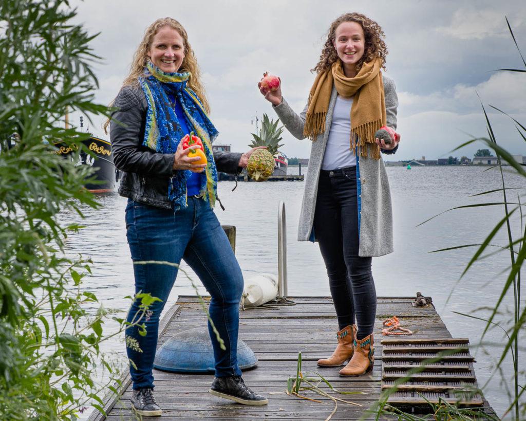 Leonie Goezinnen en Floor Dieben, diëtisten Dieet voor jou. Foto gemaakt door Gaston Lamaitre https://gastonlamaitre.com/